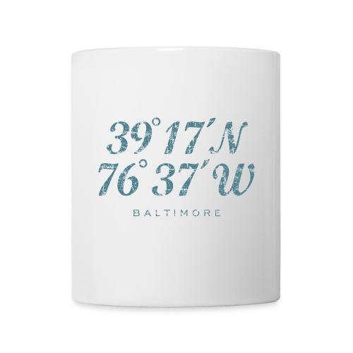 Baltimore Coordinates Vintage Blue