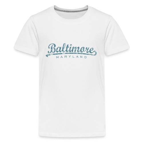 Baltimore Maryland Classic Vintage Blue