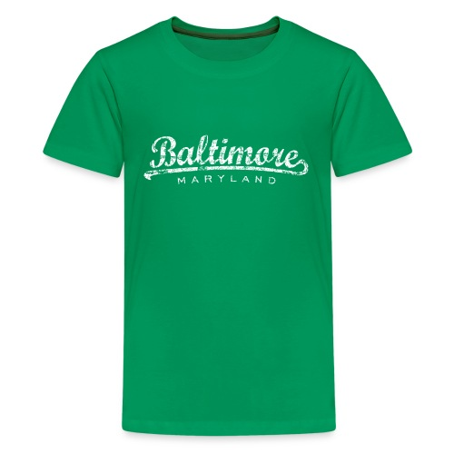 Baltimore, Maryland Classic T-Shirt (Children/Green) - Kids' Premium T-Shirt
