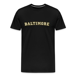 Baltimore T-Shirt College Style - Men's Premium T-Shirt