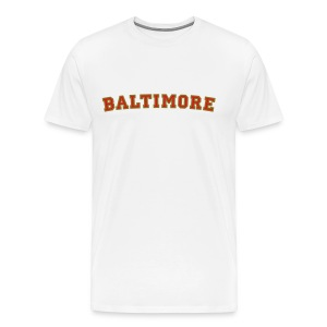 Baltimore College Style T-Shirt - Men's Premium T-Shirt