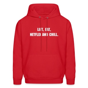 Netflix and Chill Hoodie - Men's Hoodie