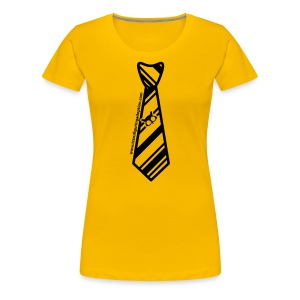 Yellow/Black Ladies Plus Size - Women's Premium T-Shirt