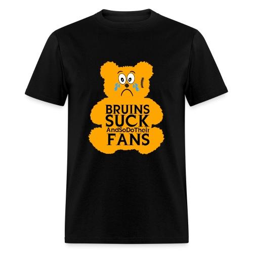 Bruins Suck Teddy - Men's T-Shirt