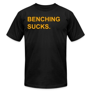 Bench Sucks - Men's Fine Jersey T-Shirt