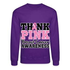 Think Pink - Crewneck Sweatshirt