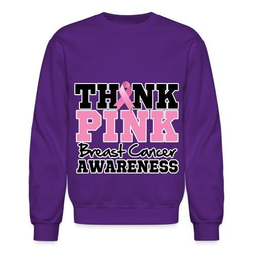 Think Pink - Crewneck Sweatshirt