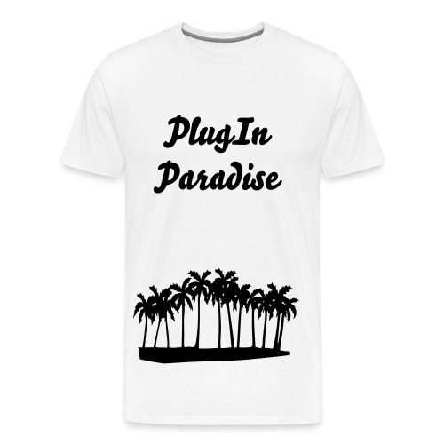 Plug-In Paradise T=Shirt - Men's Premium T-Shirt