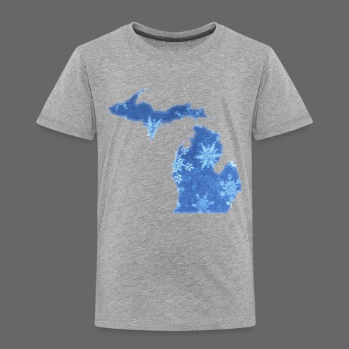 Michigan Snowflake - Toddler Premium T-Shirt