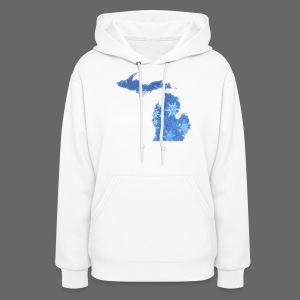 Michigan Snowflake - Women's Hoodie