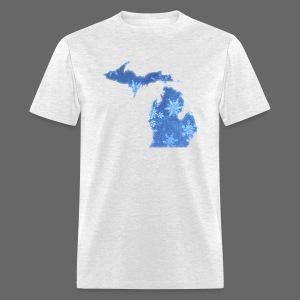 Michigan Snowflake - Men's T-Shirt
