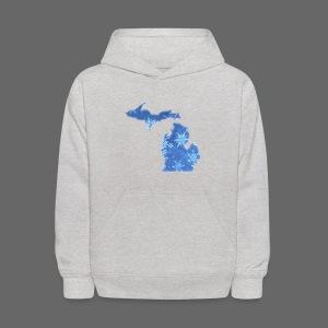 Michigan Snowflake - Kids' Hoodie