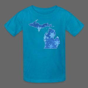 Michigan Snowflake - Kids' T-Shirt