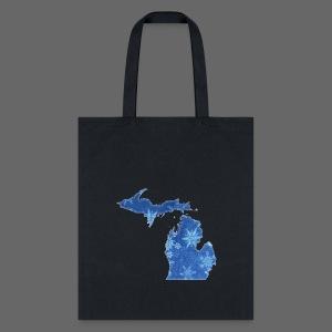 Michigan Snowflake - Tote Bag