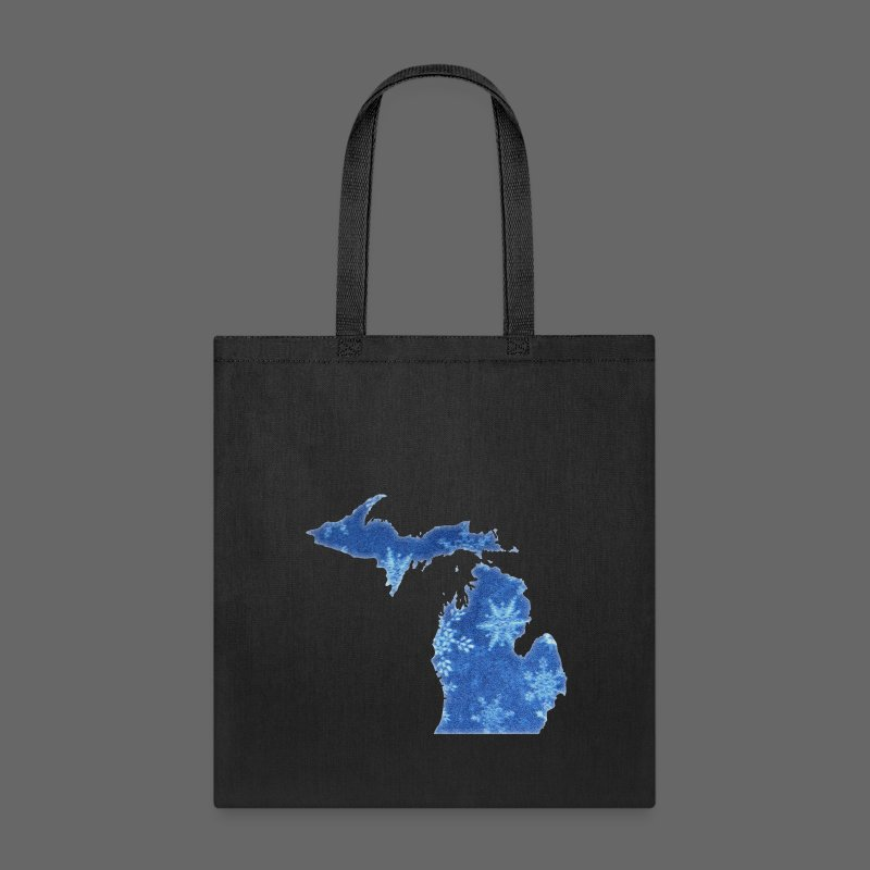 Michigan Snowflake - Tote Bag