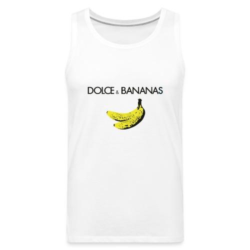 Dolce & Bananas Men Tank Top - Men's Premium Tank