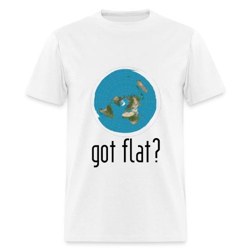 Mens Got Flat?  - Men's T-Shirt
