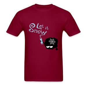 Let it snow X-MAS Men's T-Shirt - Men's T-Shirt