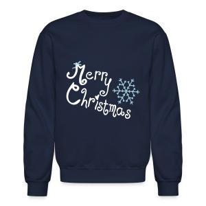 Merry X-MAS Crewneck Sweatshirt - Crewneck Sweatshirt