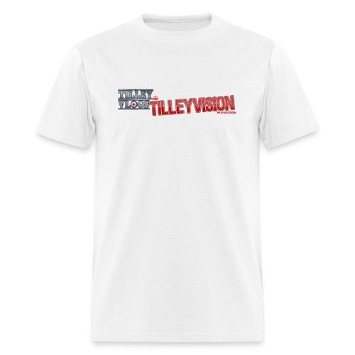 Men's Plain White TilleyVlogs Shirt - Men's T-Shirt
