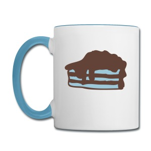 pie Contrast Coffee Mug - Contrast Coffee Mug