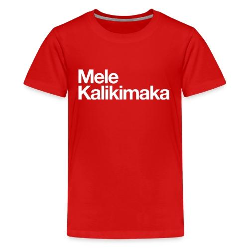Mele Kalikimaka - Kids' Premium T-Shirt