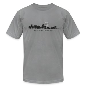 Moon over Baltimore T-Shirt - Men's T-Shirt by American Apparel