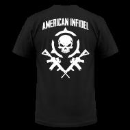 T-Shirts ~ Men's T-Shirt by American Apparel ~ Invictus Rifles