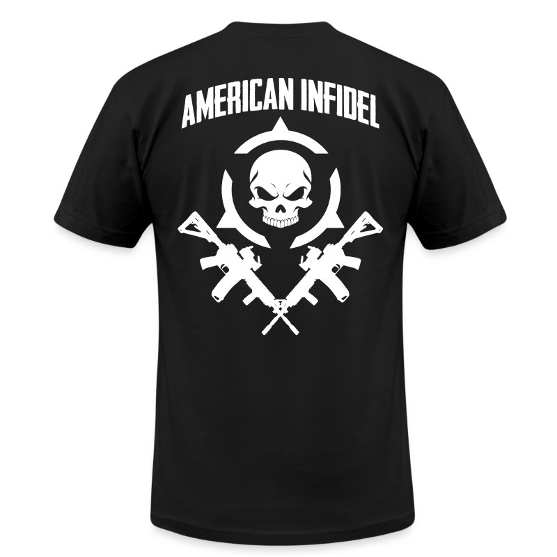 Invictus Rifles - Men's T-Shirt by American Apparel