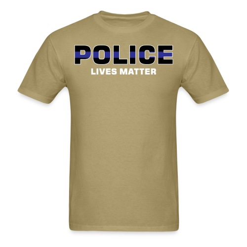 Police Lives Matter - Men's T-Shirt