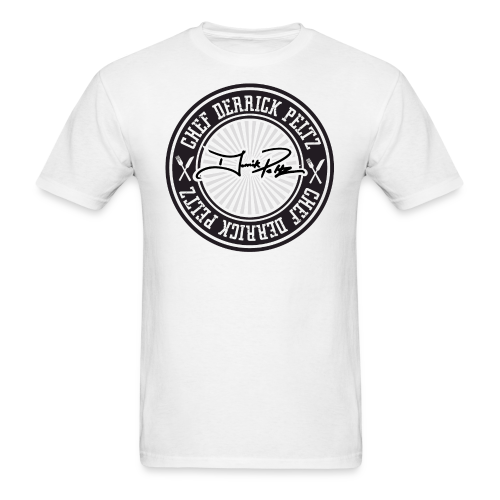 Chef Derrick Peltz Signature Tee - Men's T-Shirt