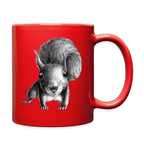 curious squirrel - Full Color Mug