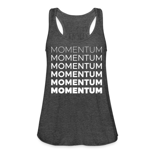 Momentum Racerback Active Tank - Grey - Women's Flowy Tank Top by Bella