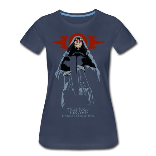 Sith Lord Jar Jar Women's Premium T-shirt (navy) - Women's Premium T-Shirt