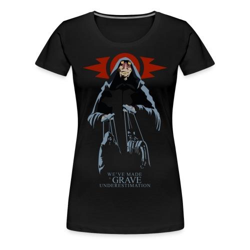 Sith Lord Jar Jar Women's Premium T-shirt (black) - Women's Premium T-Shirt