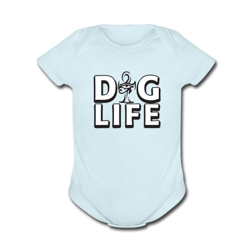 Infant DIGLIFE Ahnk Collection - Organic Short Sleeve Baby Bodysuit