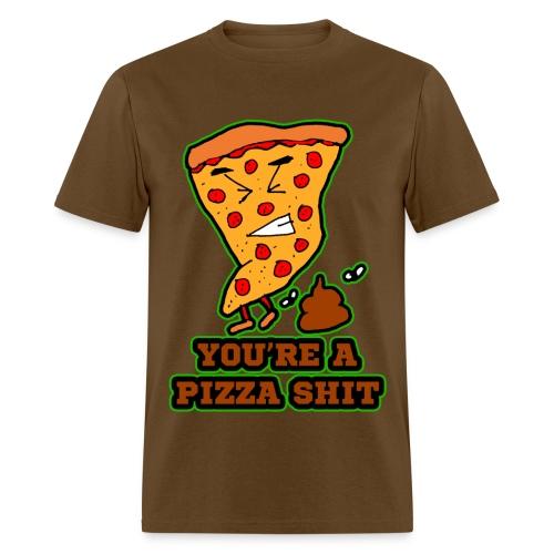Pizza Shit - Men's T-Shirt