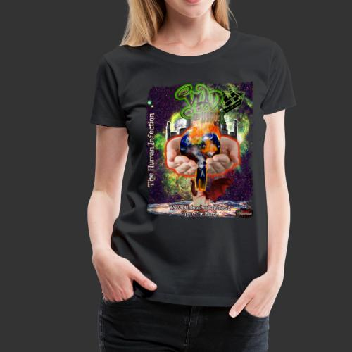 Vlad The Inhaler: Human Infection - Women's Premium T-Shirt