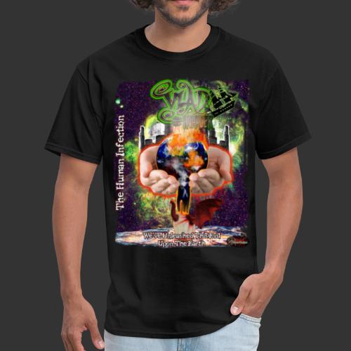 Vlad The Inhaler: Human Infection - Men's T-Shirt
