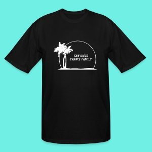 SDTF Logo-White T-Shirts - Men's Tall T-Shirt