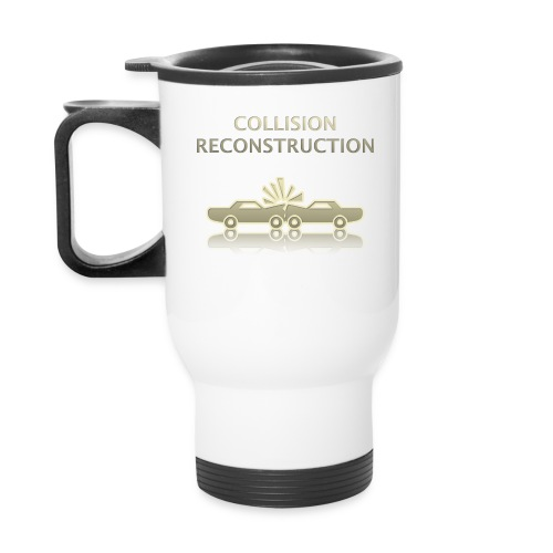 AF [Front: Logo] [Back: Collision Reconstruction Team] Travel Mug - Travel Mug
