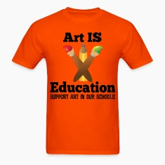Support Art In Schools T-Shirts