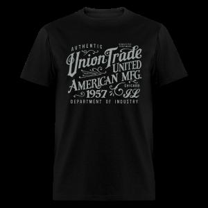 Union Trade Mfg.-Black - Men's T-Shirt