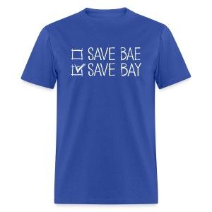Men's Classic T-Shirt 'SAVE BAY!' - Men's T-Shirt