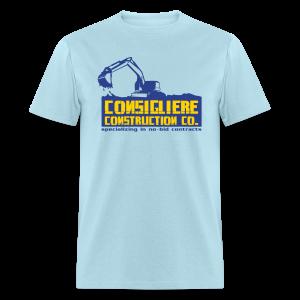 Consigliere Construction Co-Lt Blue - Men's T-Shirt
