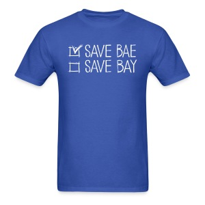 Men's Classic T-Shirt 'SAVE BAE!' - Men's T-Shirt