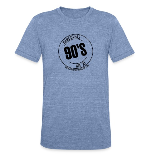 Hangovers men's tri-blend blue - Unisex Tri-Blend T-Shirt