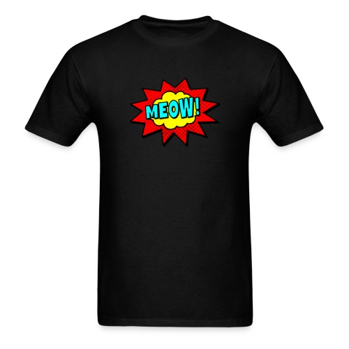 pop art meow unisex - Men's T-Shirt