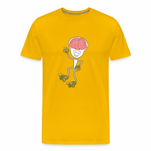 Mango Genius Men's T-shirt (premium) - Men's Premium T-Shirt