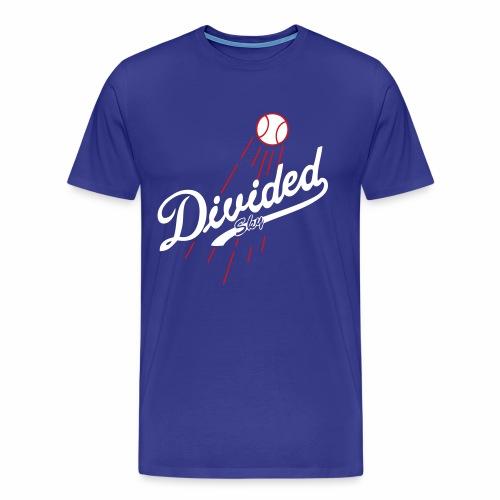 Divided Sky Men's T-shirt (blue) (premium) - Men's Premium T-Shirt